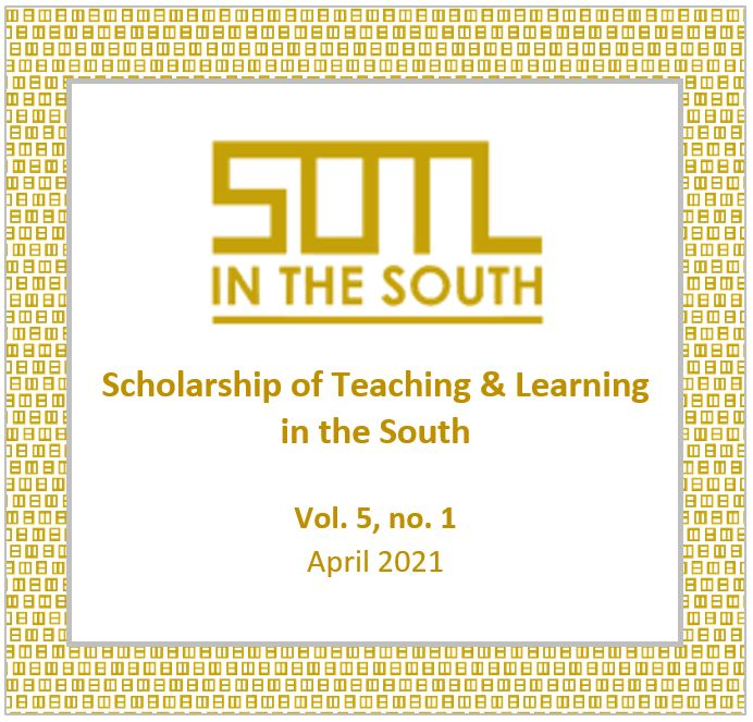 View Vol. 5 No. 1 (2021): SOTL in the South (special issue)