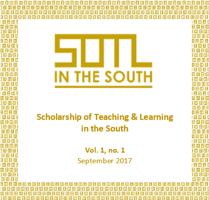SOTL in the South journal