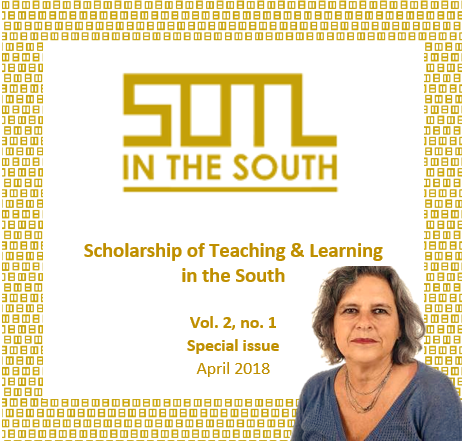 View Vol. 2 No. 1 (2018): SOTL in the South (special issue)