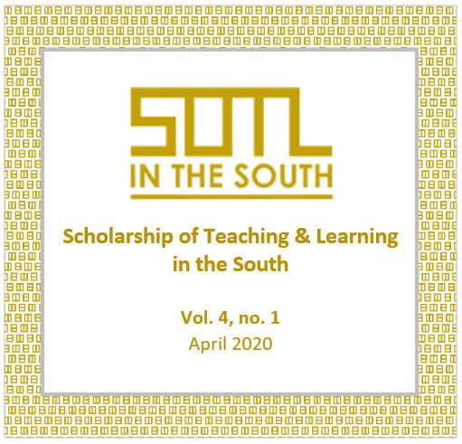 View Vol. 4 No. 1 (2020): SOTL in the South (special issue)
